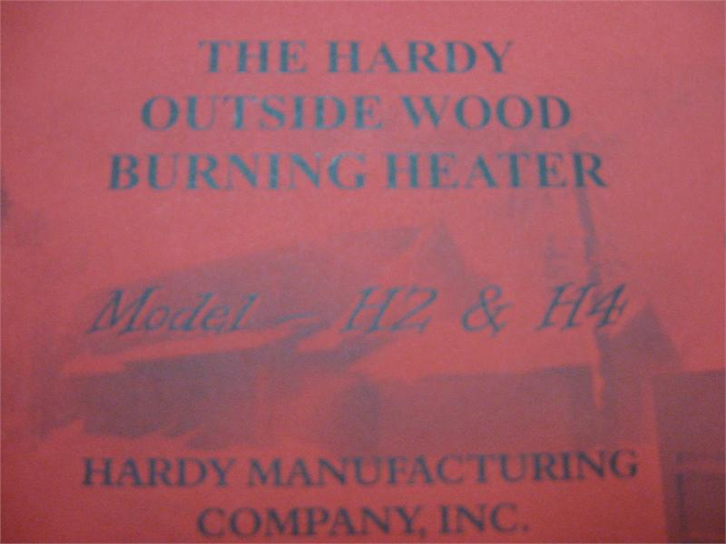 Hardy Owners Manual H2  H4